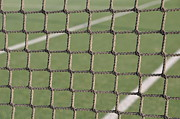 Slam Prints - Tennis net Print by Luis Santos