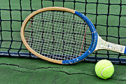 Net Photos - Tennis - Vintage Tennis Racquet by Paul Ward
