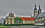 Gebaeude Metal Prints - Tepla Monastery - Czech Republic Metal Print by Juergen Weiss