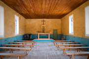 Religious Art Photos - Terlingua Church by Sonja Quintero