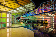 Airlines Photos - Terminal 1 OHare by Lauri Novak