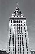National Commercial Framed Prints - Terminal Tower II Framed Print by Clarence Holmes