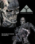Scott Parker Metal Prints - Terminator Image 2 Metal Print by Scott Parker