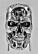 Science Fiction Art - Terminator T-800 by Benjamin Yeager