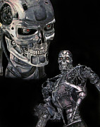 Scott Parker Metal Prints - Terminator T800 Metal Print by Scott Parker