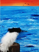 Tern Originals - Tern on the Water by Annette Egan