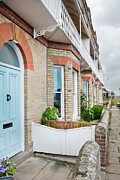 Aldeburgh Prints - Terrace houses Print by Tom Gowanlock