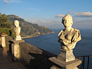 Panoramic Ocean Prints - Terrace of Infinity in Ravello on Amalfi Coast Print by Kiril Stanchev