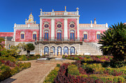 Nigel Hamer Metal Prints - Terrace of The Palacio De Estoi Metal Print by Nigel Hamer