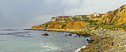 Rancho Palos Verdes Framed Prints - Terranea Resort Framed Print by Ron Regalado