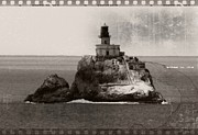 Tillamook Rock Lighthouse Framed Prints - Terrible Tilly Lighthouse 4 Framed Print by Chalet Roome-Rigdon