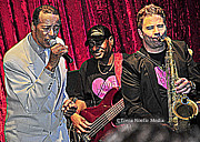 Concert Photos Art - Terrific Trio of Talent by Tonia Noelle