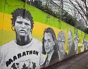 Mural Photos - Terry Fox Mural by Chris Dutton