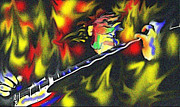 Terry Digital Art - Terry Kath by Glenn Cotler