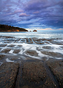Flow Photo Prints - Tessellated Flow Print by Mike  Dawson