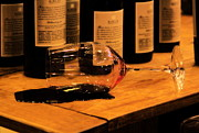 Wine Vineyard Photos - Testing room by Viktor Savchenko