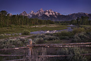 Park Scene Photos - Teton Countryside by Andrew Soundarajan