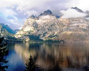 Featured Originals - Teton Park Mountain Range  by Iconic Images Art Gallery David Pucciarelli