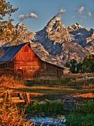 Teton Sunrise Print by Rob Wilson