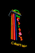 Tex-mex Art - TEX MEX Cantina NEON by PAMELA Smale Williams