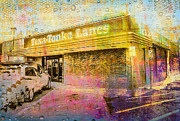 Photo Manipulation Digital Art Posters - Texa-Tonka Lanes Poster by Susan Stone