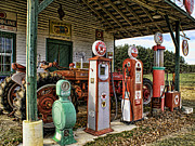 Julia Dressler - Texaco Pumps