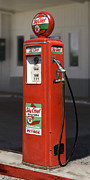 Strong Vertical Images Prints - Texaco SkyChief - Tokheim Gas Pump Print by Mike McGlothlen