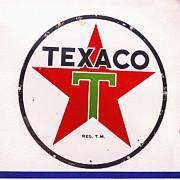 Texaco Star Print by Janice Rae Pariza