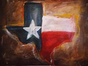 Republican Paintings - Texas by Niceliz Howard