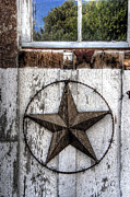 Star Barn Posters - Texas Star Poster by Daniel Hagerman