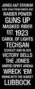 Tech-art Posters - Texas Tech College Town Wall Art Poster by Replay Photos