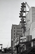 Cliff Lee Metal Prints - Texas Theatre Metal Print by Sonja Quintero