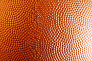 Basketball Metal Prints - Texture Metal Print by Les Cunliffe
