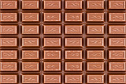 Snack Bar Art - Texture Of Dark Brown Chocolate Bar  by G J
