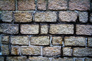 Texture Of Old Wall Print by Niphon Chanthana