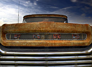 Old Ford Prints - Textured Ford Truck 2 Print by Thomas Young