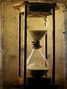 Flypaper Textures Art - Textured hourglass by Bernard Jaubert