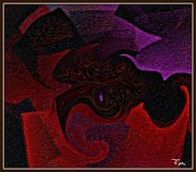 Judy Minderman Metal Prints - Textures Metal Print by Judy Minderman