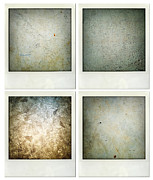 Concrete Floor Framed Prints - Textures Framed Print by Les Cunliffe
