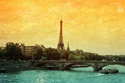 Paris Metal Prints - Textures of Paris Metal Print by Carol Groenen
