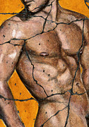Men Paintings - Thaddeus - Study No. 1 by Steve Bogdanoff