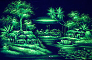 White River Scene Photo Originals - Thai art by Angelika Bentin