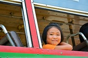 Bobby Mandal - Thai girl in bus