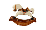 Decor Ceramics - Thai Porcelain rocking horse by Anastasiia Kononenko