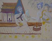Thailand Paintings - Thailand by Avonelle Kelsey