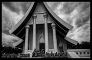 Thailand Buddhist Prayers 5 Print by David Longstreath
