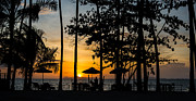 Mike Lee Metal Prints - Thailand Sunset Metal Print by Mike Lee