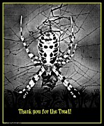Frightening Posters - Thank you for the TREAT Poster by Sherry Gombert