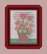 Hug Me Prints - Thank You Mother Dear Print by Barbara Griffin