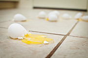 Scramble Egg Prints - That Kind of Day Print by Anne Beatty